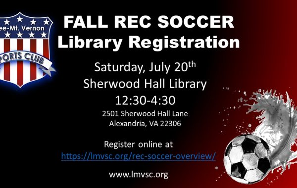 Rec Soccer Overview - Lee Mount Vernon Sports Club